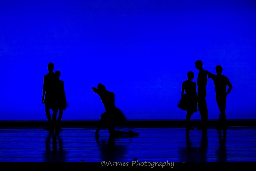 "Opening Picture of Zalman Raffael's ""Rhapsody in Blue."" © Nigel Armes."