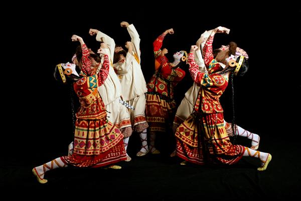 "Joffrey Ballet's ""Rite of Spring."" Cite: http://liedcenter.org/event/ias-joffrey-ballet—-rite-spring"