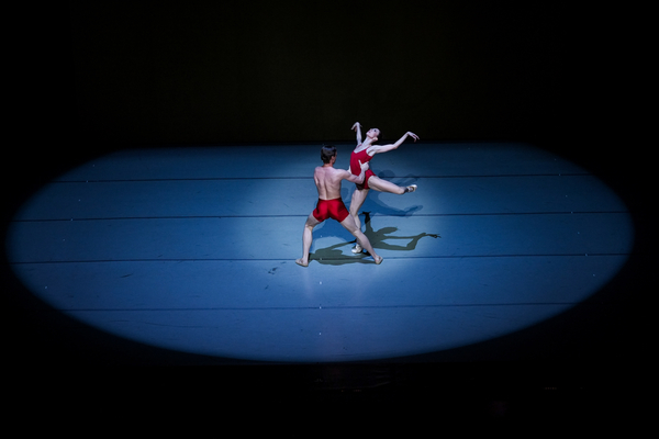 "Lindsay Purrington and Richard Krusch in Christopher Stowell's ""Rite of Spring."" Photo by © Tim Lytvinenko, 2013."