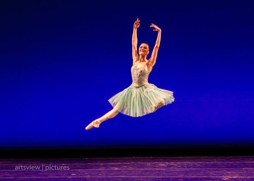 "Cecilia Iliesiu in ""Raymonda Variations."" Photo by Denise Cerniglia, 2013."