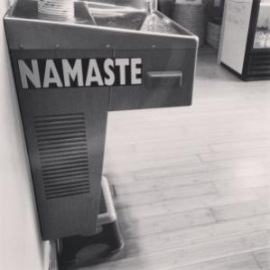 {Namaste}