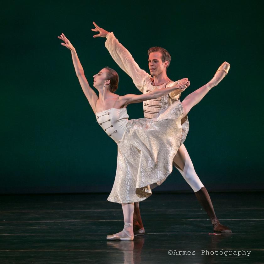 {Hungarian Dances} Alicia Fabry & Adam Schiffer. Photo taken by Armes Photography, 2015.