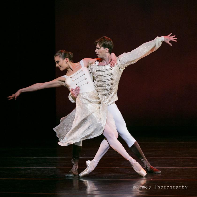 {Hungarian Dances} Cecilia Iliesiu & Oliver Béres. Photo taken by Armes Photography, 2015.