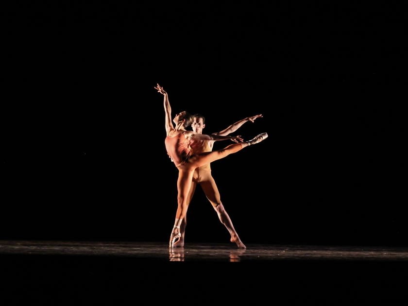 {In The Gray} Cecilia Iliesiu & Adam Crawford Chavis. Photo taken by Denise Cerniglia, 2015.