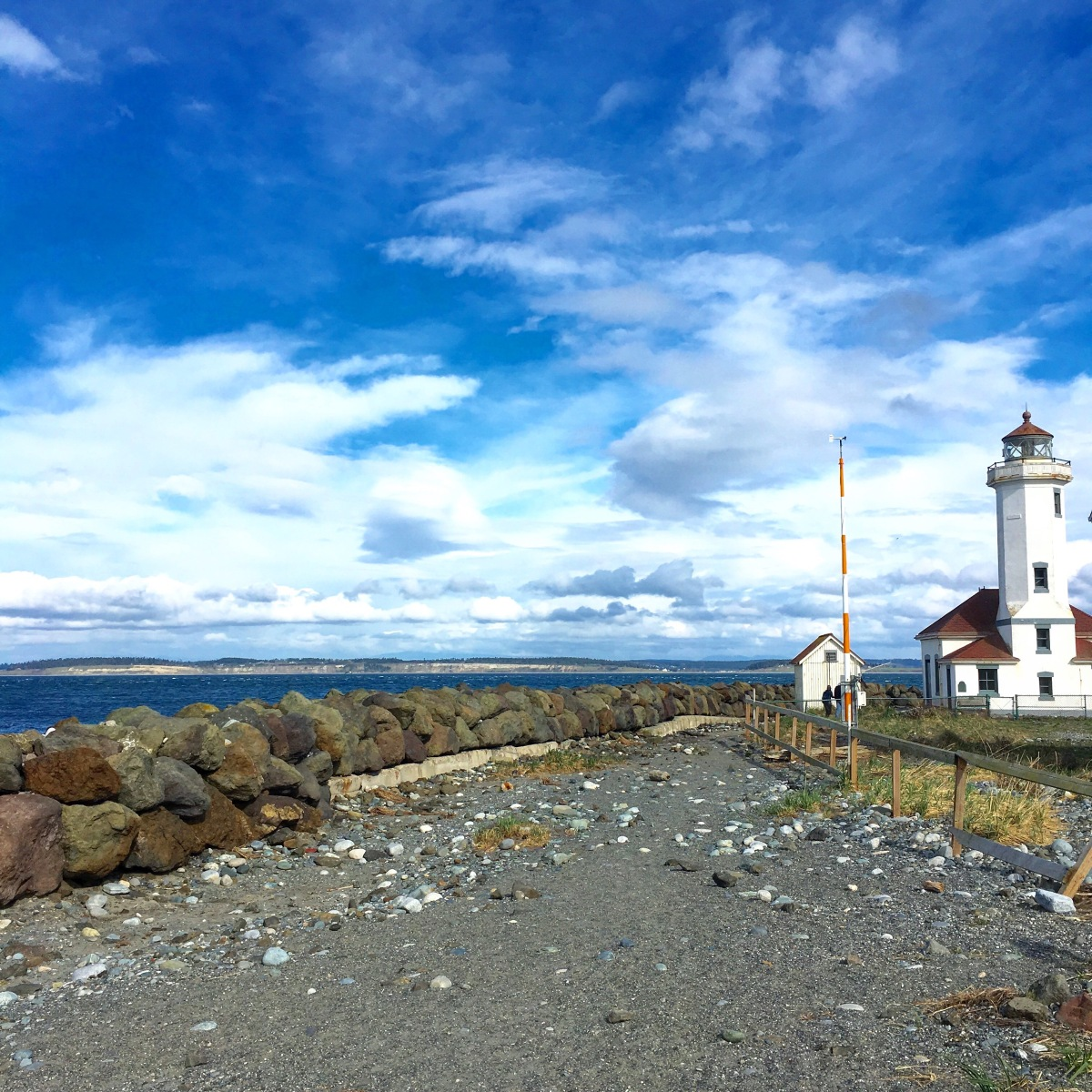 Port Townsend Lighthouse.