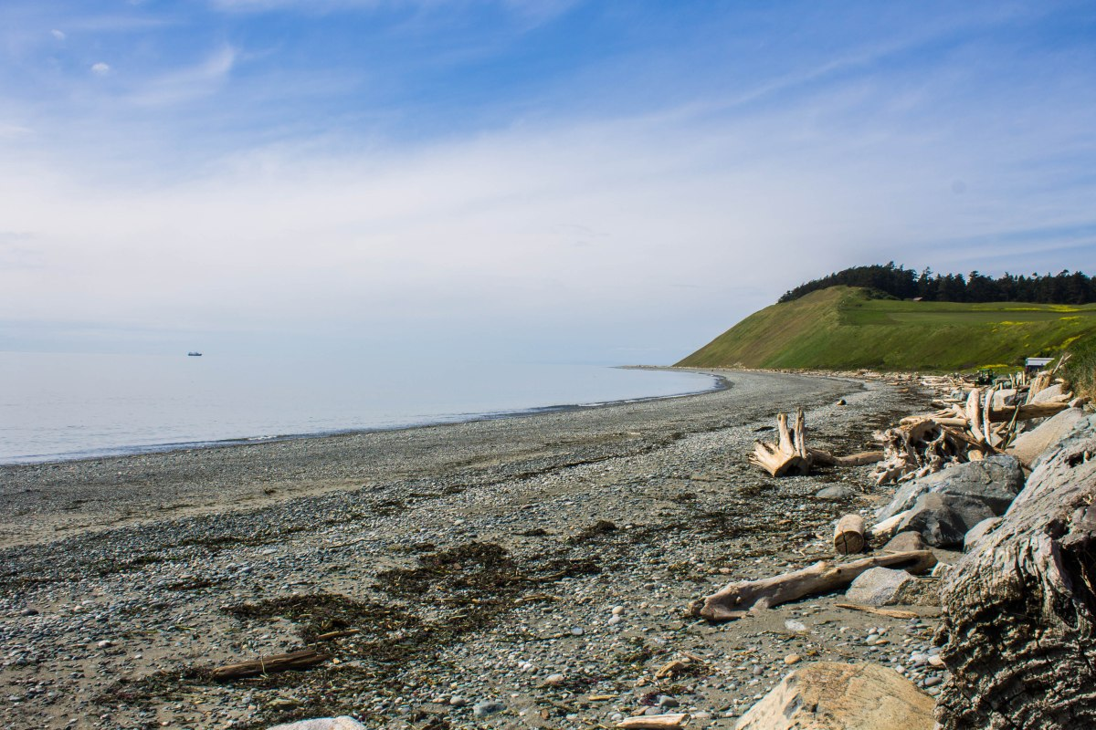 Ebey's Landing on {Whidbey} Island. Photo by Cecilia Iliesiu.