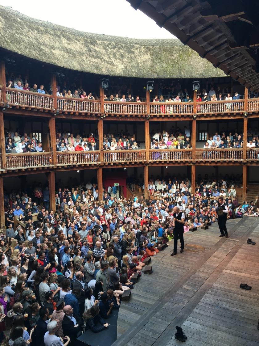 6.2016 London - Shakespeare Globe