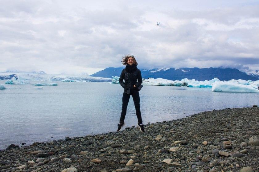6.18.2016 Jökulsárión Iceberg Lagoon, Elizabeth Murphy (dancer)