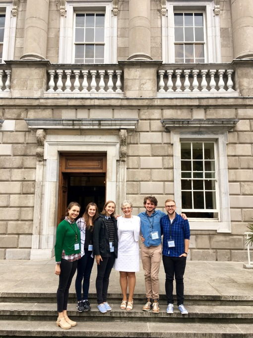 7.2016 Dublin, Ireland - Katherina Zappone at the House of Parliament