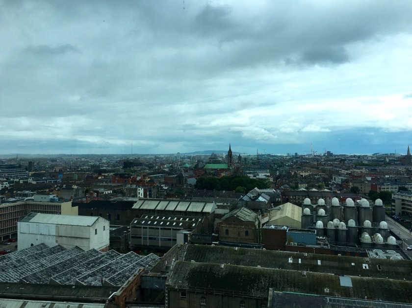 7.2016 Dublin, Ireland - Guinness Storehouse Gravity Bar