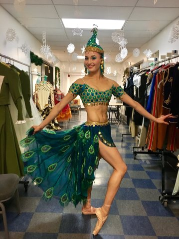 Me as the Arabian coffee in PNB's {The Nutcracker}. 2016.